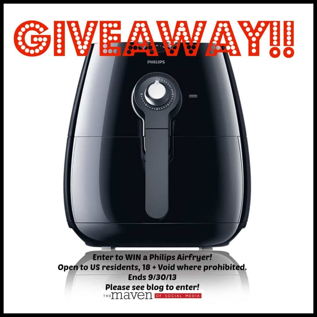 Philips Airfryer Giveaway