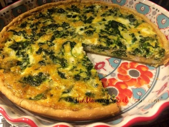 Kid Friendly Quiche Recipe - The Maven of Social Media®