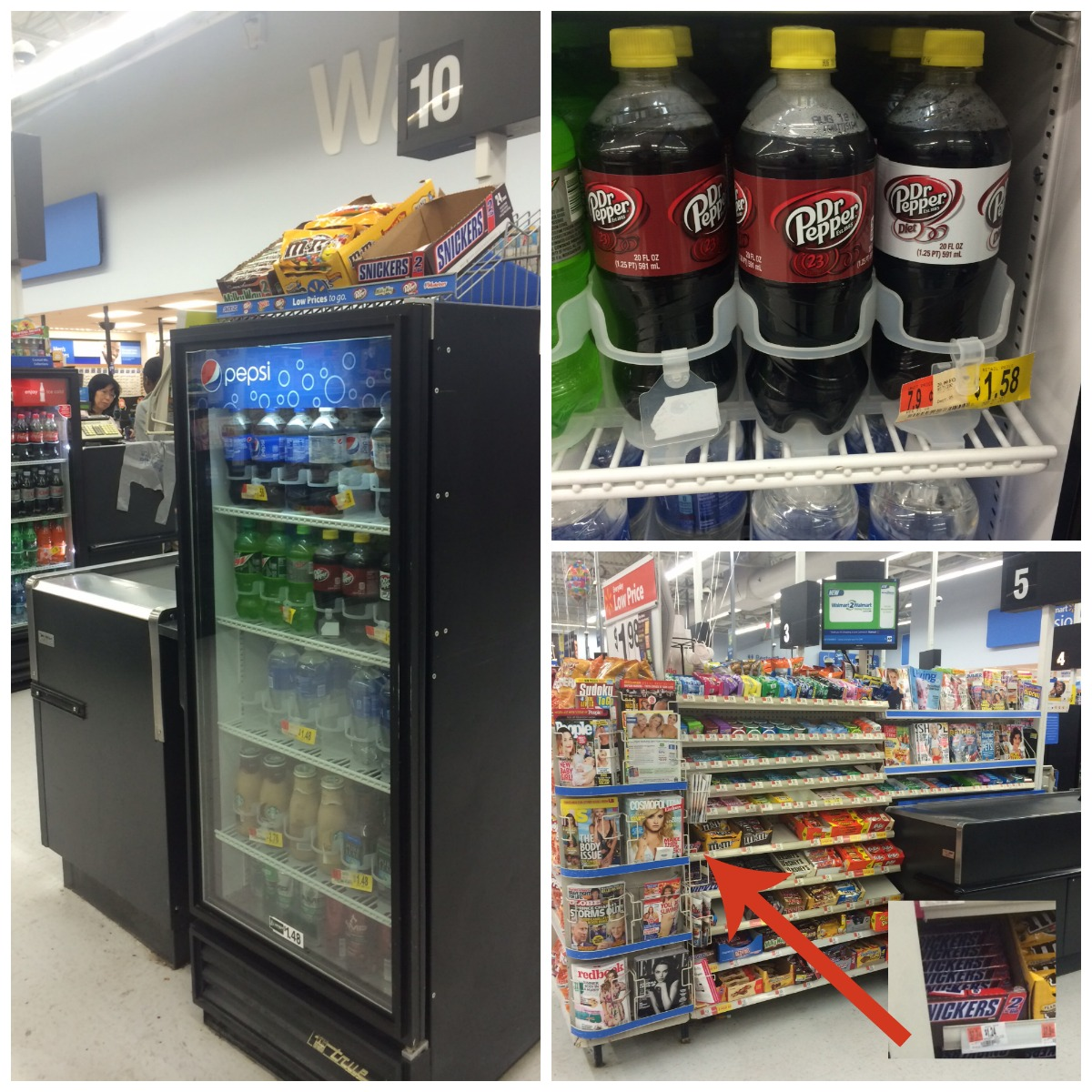Find SNICKERS® and Dr Pepper at Walmart #refuel2go #shop