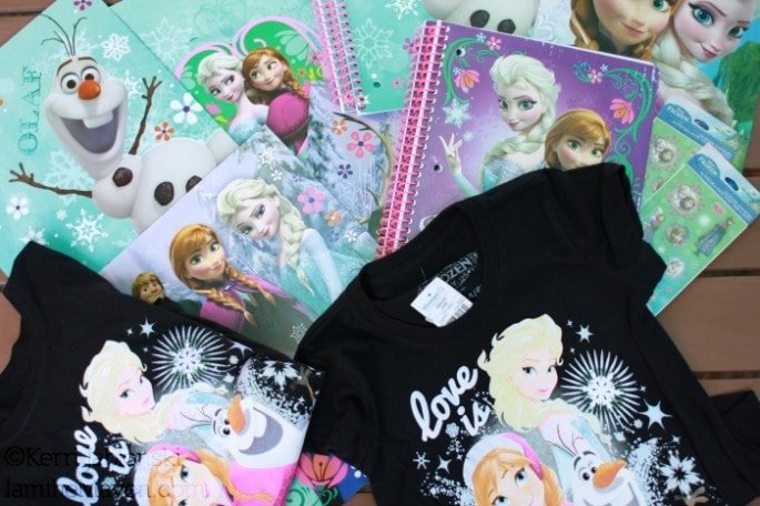 FROZEN back to school supplies #FROZENfun #shop