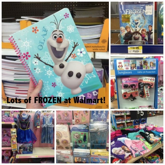 FROZEN merchandise at Walmart #FROZENfun #shop