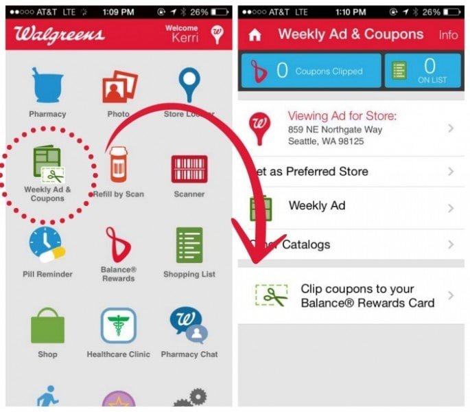 It's easy to clip paperless coupons at Walgreens! #WalgreensPaperless #shop