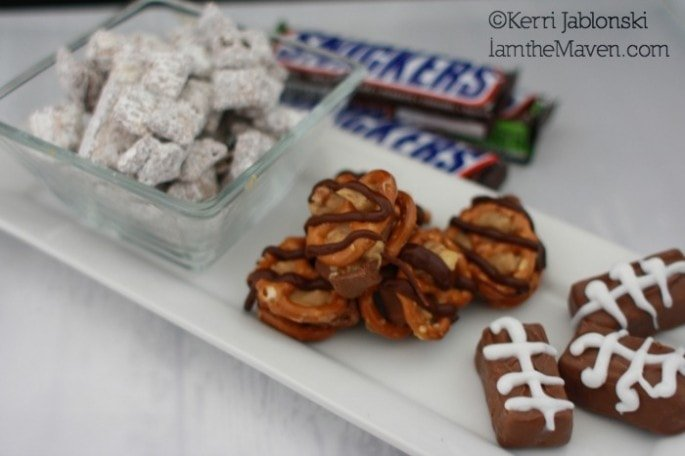 These chocolate snacks are perfect for football tailgates! #Chocolate4thewin #shop