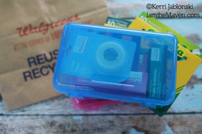 first aid kit and art supplies #giveashot #shop