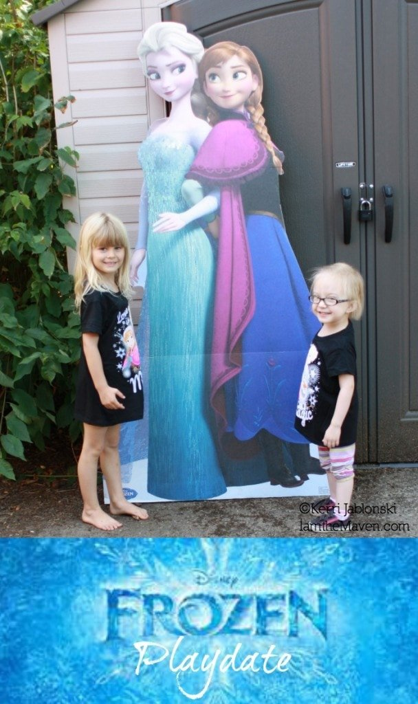 FROZEN playdate with friends #FROZENfun #shop