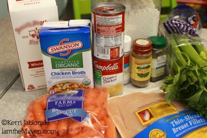 Ingredients for Chicken and Dumplings #Labels4Edu #shop #cbias