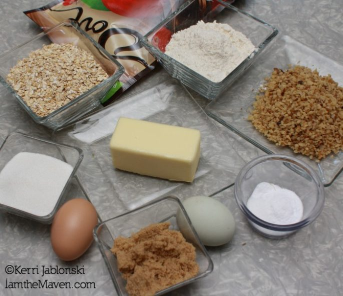 Ingredients for cookies #LoveDoveFruits #shop