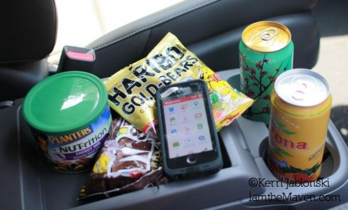 Road trip snacks from Walgreens #WalgreensPaperless #Shop
