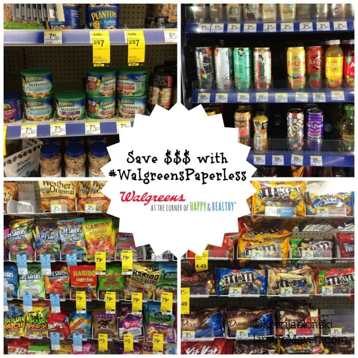 Save money at Walgreens #WalgreensPaperless #Shop