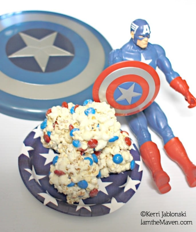Captain America toys and treats #HeroesEatMMs #cbias #shop