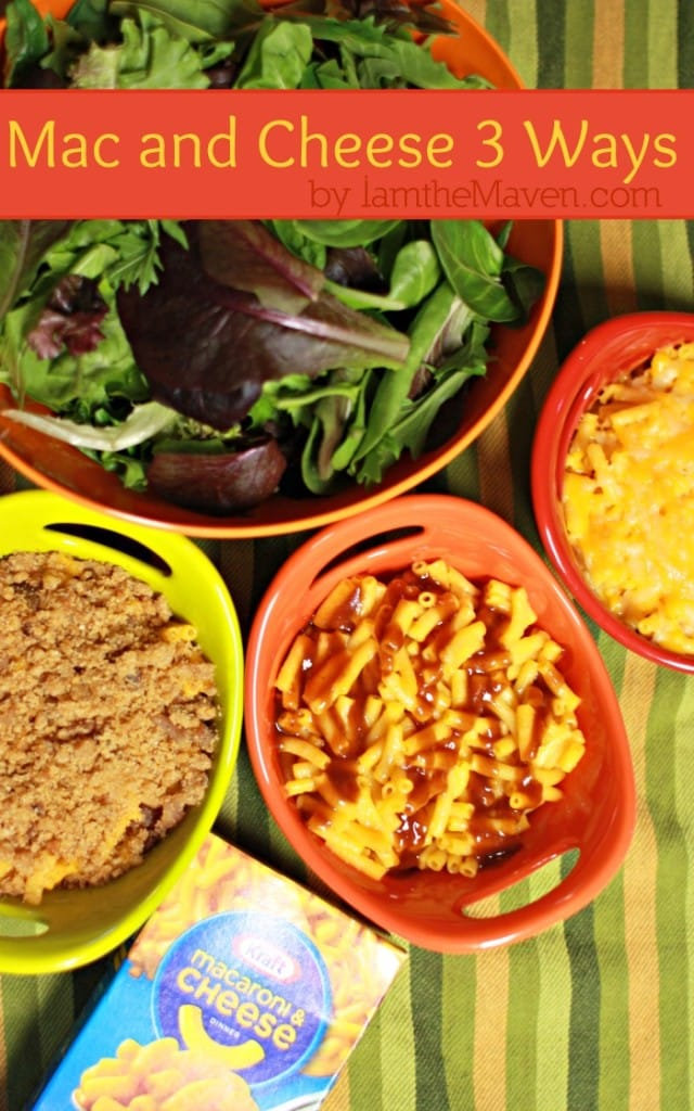 Budget friendly meals : Mac and Cheese 3 Ways #RollIntoSavings #shop
