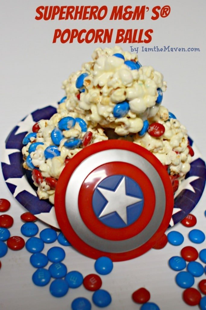 M&M Popcorn Balls #HeroesEatMMs #cbias #shop