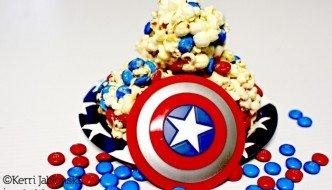 Popcorn balls are super easy to make #HeroesEatMMs #cbias #shop