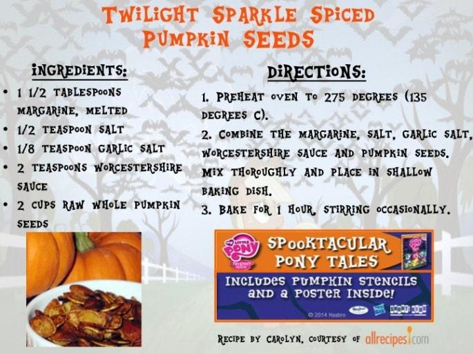 My Little Pony recipe