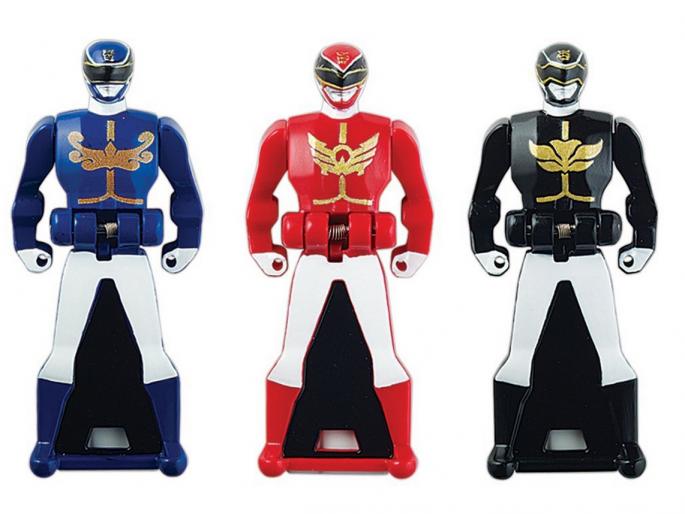 Power Rangers Super Megaforce Legendary Ranger Keys