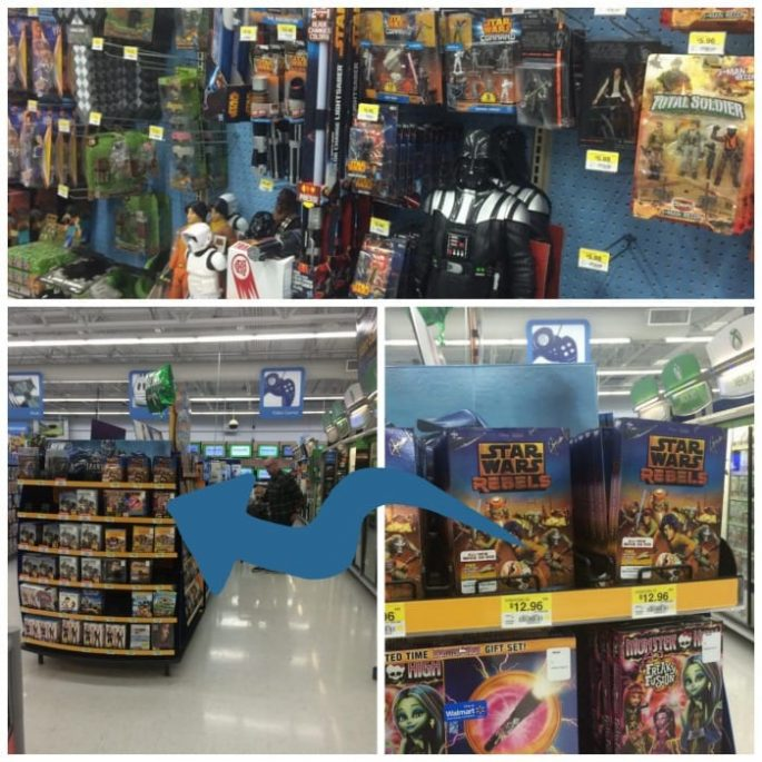 Star Wars Rebels at Walmart #SparkRebellion #Shop