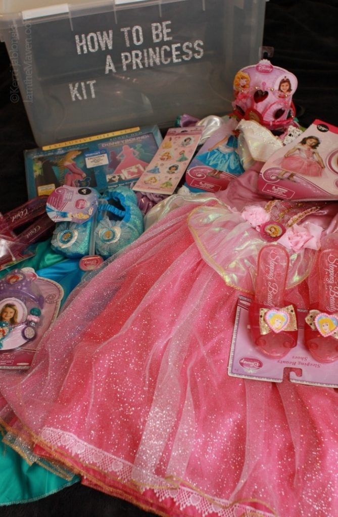 Make your own  How to be a Princess Kit #disneybeauties #shop