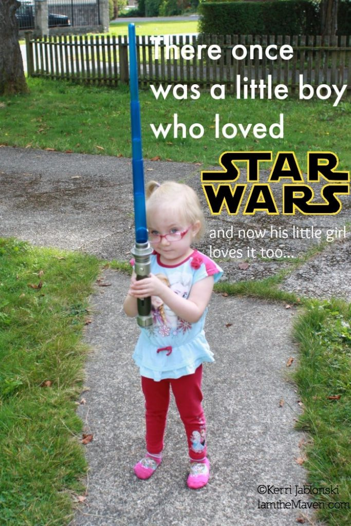 A little girl loves Star Wars #SparkRebellion #Shop #cbias