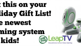 The perfect holiday gift for kids is #LeapTV #MommyParties #review