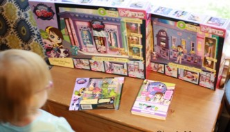 Quincy checks out these cool new Littlest Pet Shop toys #LittlestPetShop #Sponsored #MC