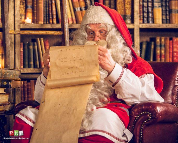 Santa Claus Portable North Pole