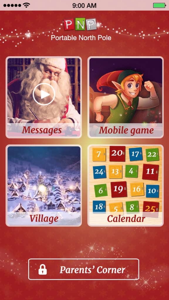 Portable North Pole app for IOS