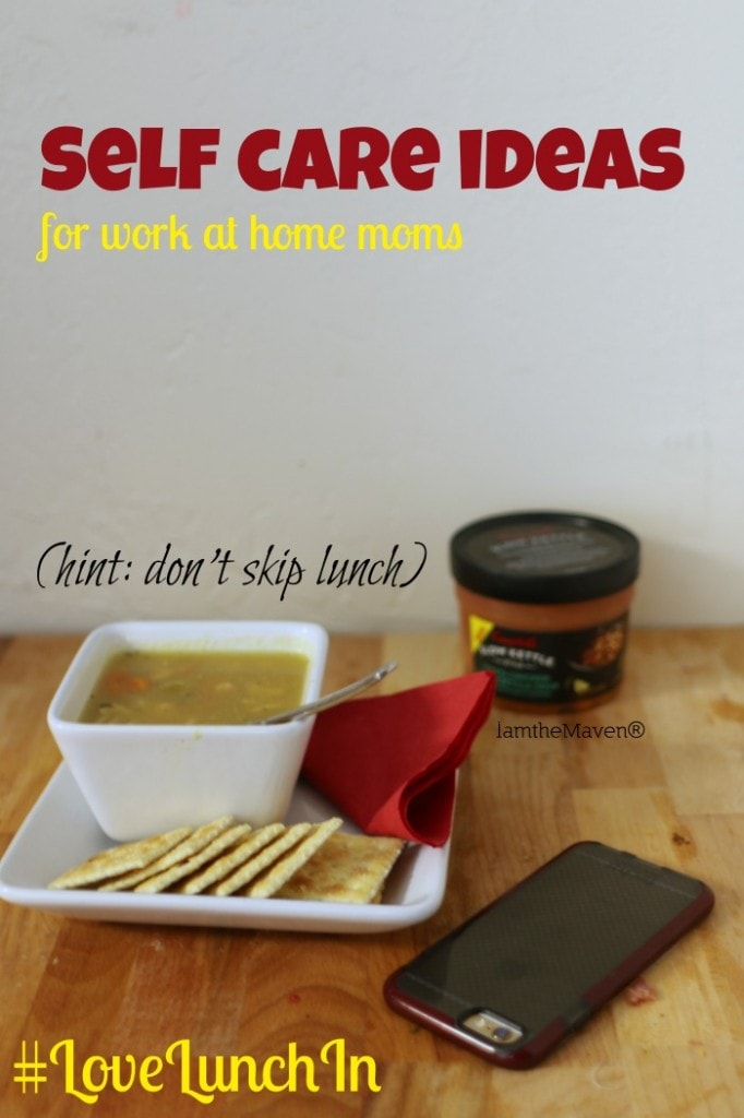 Don't be tempted to skip lunch, serve up a bowl of Campbell's® Slow Kettle® soup! #LoveLunchIn #ad