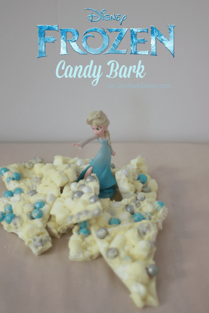 Make this Frozen Candy Bark in just minutes #SweetWorksHoliday #ad